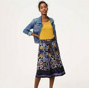 LOFT Autumn Dream Midi Skirt